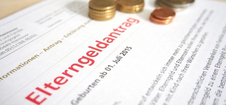 Papierkram für Mutterschutz, Elterngeld und Kindergeld