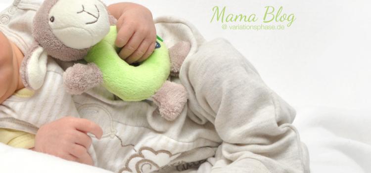 Erstes Fotoshooting mit Baby