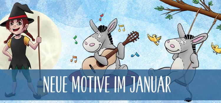 Neue Motive im Januar